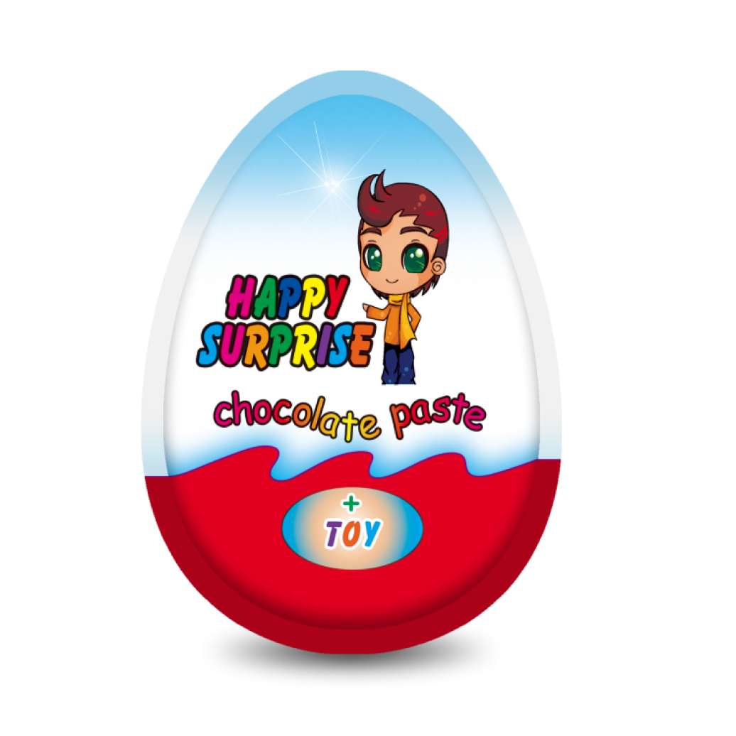 """Яйцо с сюрпризом для мальчиков """"HAPPY SURPRISE"""" Премиум"""