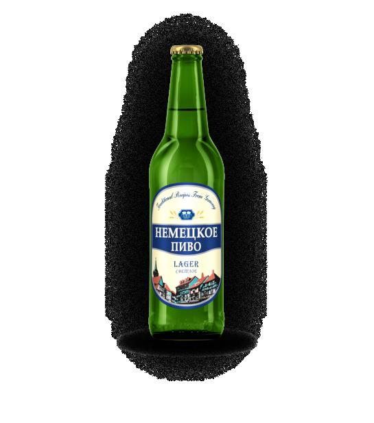 Пиво Немецкое Original Lager 3,8%