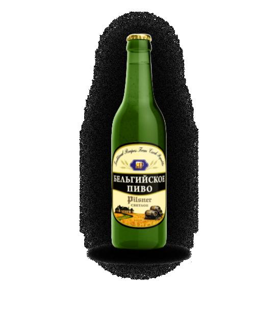 Пиво Бельгийское Pilsner 3,8%