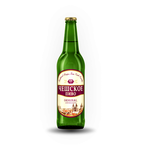 Пиво Чешское  Pilsner 3,8%